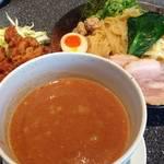 【閉店】伏見区 濃厚なつけ麺とからあげ美味しい「つけ麺 山勝麺三」【ラーメン】