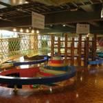雨の日も遊ぼう!① 「文化パルク城陽」 遊具たくさんのプレイルーム♪
