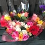 JR桃山駅近く「月本バラ園」で季節のお花が格安で買えちゃう♪ 【お買い物】