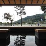 嵐山特集㊱ 渡月橋を一望!日本一の眺め「ひゅーめ」は足湯ができる和Cafe 【スイーツ】