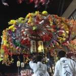 """京都伏見の""""秋の風物詩""""「御香宮神幸祭」で熱い一週間!楽しい屋台や迫力の花傘巡行!"""