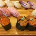 中央市場からスグ!ランチがお得「にぎりいっちょ!」は穴場的な本格寿司屋さん【ランチ】