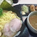 【現在は閉店】 山科 艶やか中太麺が美味しいつけ麺「麺屋 夢人」【ラーメン】