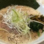 円町 泡泡のカプチーノラーメンが美味しいオシャレ店「京都 八の坊」【ラーメン】