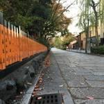 朝のスッキリした空気の祇園白川周辺をぶらり散策 【風景】