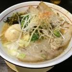 宇治小倉 濃厚スープのラーメンをガッツリ食べたいなら「てっぺん」に行こう!【ラーメン】