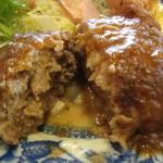 北白川 「ジュネス」で肉汁あふれるハンバーグを食べてきた!【グルメ】