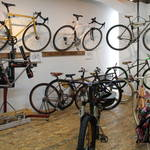 五条新町*gallery make opening exhibition [ Tomohiro Nakano – NUPLI 4 Cycles – ]9/27まで開催中【自転車】