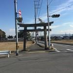 【京都珍スポットシリーズ①】一体これはどこの神社の鳥居?久御山のとある交差点