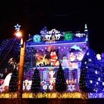 宇治折居台 スケールが違う!クリスマスムードを華やかに演出するイルミネーションのお宅【まち】