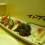四条大宮 ワインに合わせた多彩な粉モンメニュー☆「鉄板28号」【鉄板焼】