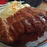 元田中 塊肉好きさん必見!行列必至の人気とんかつ店☆「おくだ」【とんかつ】