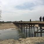 【祝!】毎年流されていた「流れ橋」が頑丈になって復活!ようやく通行可能になりました。