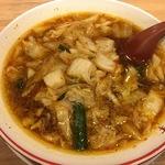 【ハマル!】奈良発祥の白菜&ニンニクたっぷりでパンチの効いた「彩華ラーメン」