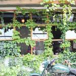 二条*グリーンに癒されいただく「CLAMP COFFEE SARASA (クランプコーヒーサラサ)」の至福の1杯【カフェ】