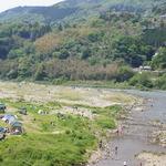 自然のフルコースを満喫!川遊び、BBQ、天然温泉が楽しめる「笠置キャンプ場」