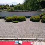 ミュージシャンの 心を打つ禅寺。比叡山を借景にした庭園【正伝寺】