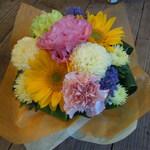 西陣 日常を彩るお花と幸せおやつ☆ 「花屋にち、星雲おやつ」