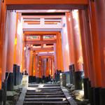伏見稲荷の中腹で京都市内を望む!イケメン俳優のご実家としても有名な老舗茶屋!「にしむら亭」