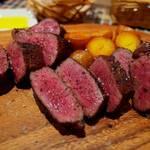 京都でしっかり肉!肉!肉! 焼肉店以外で肉汁滴る赤身ステーキ~!を頂けるお勧め料理店、8軒。