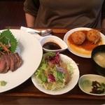 人気観光地で大満足の洋食ランチ!「金閣寺いただき」@衣笠の巻っす