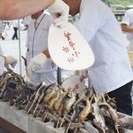 【京都の風物詩】シーズン到来を告げる若鮎の大試食会!!「嵐山若鮎祭」