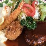 和と洋のバランスがとれたランチが大人気!「洋食の店 ITADAKI(イタダキ)」@北野白梅町の巻っす
