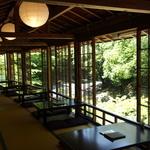 緑と清流に囲まれた最高のロケーション!下関の郷土料理の瓦そば 「松右衛門」