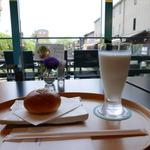 水辺が気持ちいい~♪老舗京菓子店のコラボカフェ!「一之船入 あんカフェ ル・プティ・スエトミ」