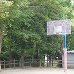 大きな広場もあり!バスケ・テニス・ゲートボールが楽します!長岡天満宮奥の「長岡公園」