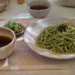 【本場】伊右衛門の「福寿園 宇治工房」で宇治抹茶を使った香り高い茶そばを!