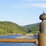 """紫式部 """"源氏物語""""の舞台。日本三古橋の一つとして知られる「宇治橋」"""