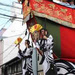 祇園祭*後祭・山鉾巡行、花傘巡行迫る!神輿の還幸祭も賑やかに【祭り】