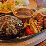 黒デミグラスの肉汁たっぷりハンバーグ旨い!丹波橋の「京都 れとろ洋食 LOCAVO(ロカヴォ)」