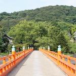 橋上から眺める最高の景色!源氏物語ゆかりの地。観光地巡りに便利な「朝霧橋」
