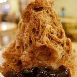 コーヒーの香り豊かで美味しい~!京都の老舗珈琲店のカプチーノかき氷♡「前田珈琲 室町本店」