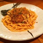 二条駅で絶品パスタ!スフレ状のふわふわオムレツもオススメ!「Osteria-Spaghetteria Menya(オステリアスパゲッテリアメンヤ)」