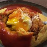 路地裏に名店あり!卵好きには堪らない半熟玉子が入ったオムライス!先斗町の「京都オムライス ルフ」