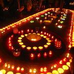 【イベント】清水焼と和蝋燭の灯りが幻想的世界へと誘う!バルフェスタも同時開催☆10月8日開催「やましな駅前陶灯路」【京都山科】