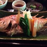 錦市場からスグ!坪庭のある京町家でお魚ランチを!「割烹 美先(みせん)」@柳馬場六角の巻す