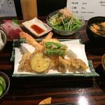 野菜にこだわったリーズナブルな天ぷら屋さん「野菜天ぷら 八百起(やおき)」@富小路六角の巻っす