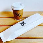 「 % Arabica Kyoto(アラビカ京都)」セントラルキッチン新設でバゲットサンド登場【コーヒースタンド】