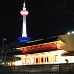 京都駅に平安京のシンボル「羅城門」が!夜にはライトアップも!10分の1スケールで再現☆