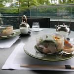 ザ・リッツ・カールトンホテル京都のテラスで優雅なランチ&ティーパーティー♪「ザ・ロビーラウンジ」