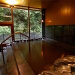京都の奥座敷・川床で有名な貴船初の日帰り温泉!大自然に抱かれる☆貴船温泉 水源の森 「天山之湯」