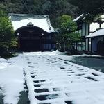 【京都冬景色】溶け始めた雪化粧の南禅寺をぶらり☆