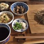木の香り漂う数寄屋造りのお蕎麦屋さん「すさかべ庵」@上七軒の巻っす