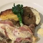 肉料理が得意な元公邸シェフが作るフレンチ「レストラン ドルチ」@御所南の巻っす