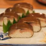 京都・鯖寿司界の横綱!200年以上続く鯖寿司専門店!「祇園新地 いづう」