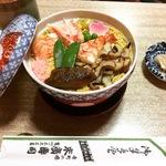 京都ならでは!寒い日のホカホカの蒸し寿司は必食!!創業200年の京寿司の名店「末廣」【寺町二条】